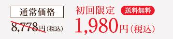初回限定 1,980円(税込)送料無料
